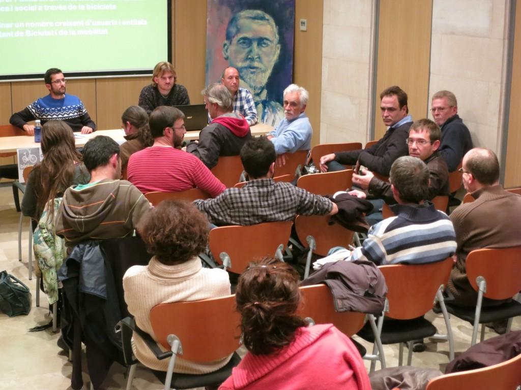 Moment del debat de propostes per a futures campanyes i reivindicacions